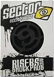 "Sector 9 S Flat 1/2"" Single Set Skateboard Risers"