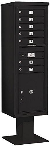 Salsbury Industries 3415s-07blk 4 C Pedestalメールボックス、ブラック B005HDYVGO
