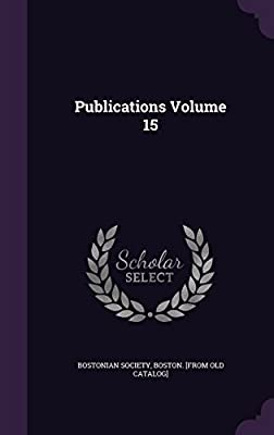 Publications Volume 15