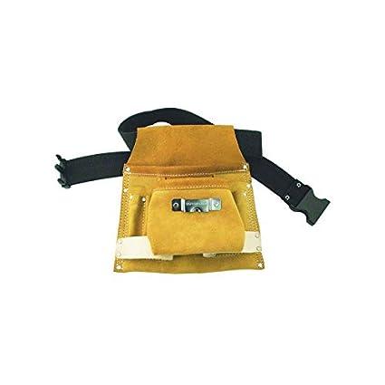 varietà di disegni e colori compra meglio goditi il prezzo più basso Cintura con 8 tasche 2 porta utensili in pelle pocket ...