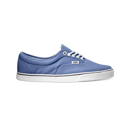 Vans Lpe Heren Blauw Canvas Veterschoenen Sneakers 11.5