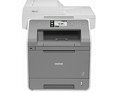 Brother Laser Multifunction Printer - Color - Plain Paper Print - Desktop MFC-L9550CDW