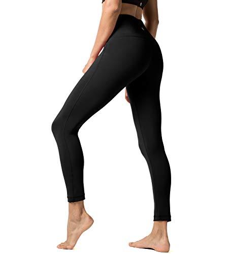 LAPASA Yoga Pants for Women Squat-Proof Sports Leggings High Waist Hidden Pocket Plus L01