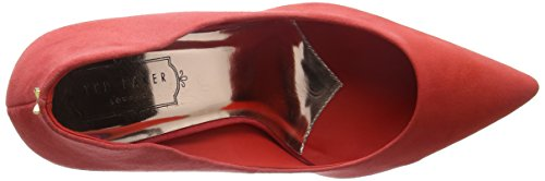 de Mujer Baker Ted Zapatos Rojo Saviy para Red Tacón q7ZgRO