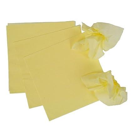 Assorted Pomps Tissue Squares