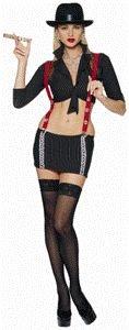 Gangsta Girl Adult Halloween Costume Size Large -