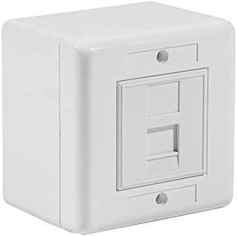 Caja de conexión RJ45 Cat 6, UTP, 1.: Amazon.es: Informática