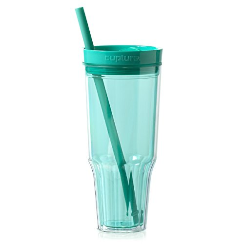 Cupture Travel 32 oz Tumbler (Mint) 32 Ounce Bubble Bottle