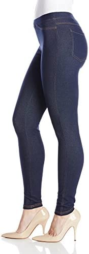 No nonsense Women's Denim Leggings With Pockets