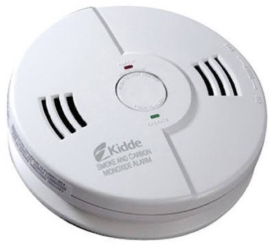 Battery Powered Night Hawk Combination Smoke/CO Alarm with Voice/Alarm Warning - Kidde Smoke Carbon Monoxide Detector