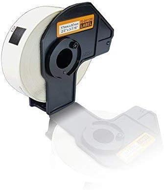 Kompatible Etiketten-Rolle f/ür Brother P-Touch DK-11203 P-Touch QL 580 Series QL 650TD QL 700 QL 710W QL 720NW DK11203 17mm x 87mm Print Adress Etiketten Label Office Serie