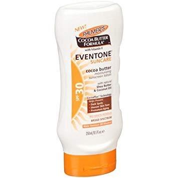 (Palmer's Cocoa Butter Formula With Vitamin E, Eventone Suncare Sunscreen Lotion, SPF 30, 8.5 Fl Oz (Pack of 3))