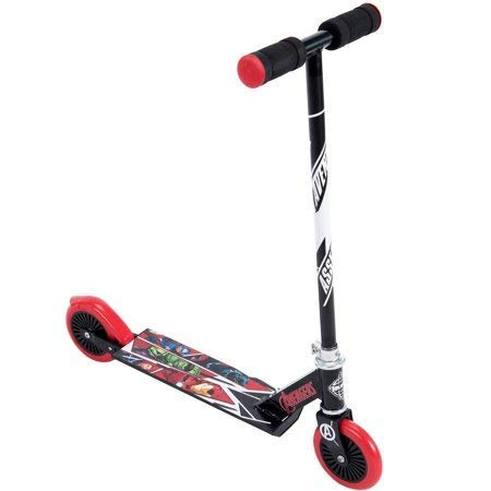 Marvel Avengers! Inline Folding Kick Scooter for Kids by huffy (Scooter 50cc Folding)