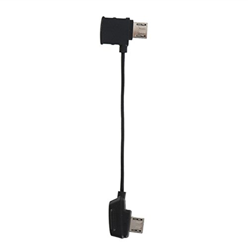 CLOVER RC Cable (Standard Micro USB connector) For DJI Mavic Pro ()