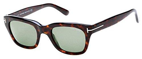 Tom Ford Sunglasses - Snowdon / Frame: Shiny Dark Havanan Lens: Brown - Sunglasses Optika