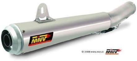Edelstahl mit Aluminium Endkappe Yamaha YZF R1 Bj MIVV Sport X-Cone Plus SLIP-ON ESD 2004-2006
