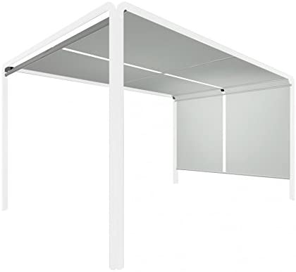 Forio Pergola Color Blanco – 400 x 285 cm, h 220: Amazon.es: Hogar