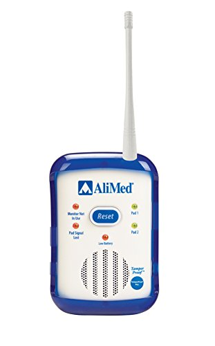 ALIMED 713318 IQ Cordless Alarm with Cordless Chair Sensor Pad System by AliMed