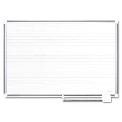 Mastervision - Ruled Planning Board 48X36 White/Silver ''Product Category: Presentation/Display & Scheduling Boards/Planning Boards/Schedulers'' by Original Equipment Manufacture