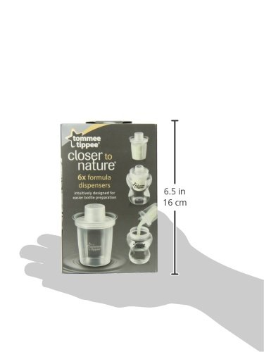 Tommee Tippee Baby Milk Powder and Formula Dispensers BPA-Free Travel Storage Container