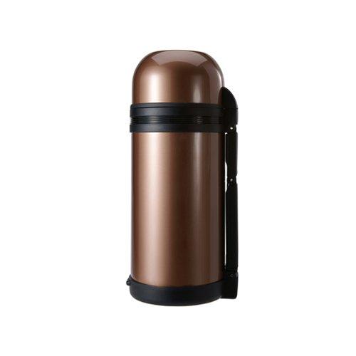 Timolino SVW-1200MBW 40-Ounce Apline Vacuum Bottle Short, Amber Brown by Timolino   B003EQ3KOK