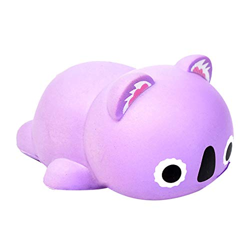 ✿✿1 Pc Hot Slow Rebound Decompression Toy Cute Simulation Animal Toys Beautiful Pattern -