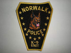 Norwalk, Connecticut Police Department K-9 Unit Patch by HighQ -