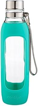 Contigo 20oz Purity Glass Water Bottle