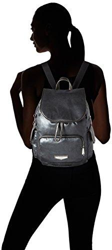 Kipling Pack Metal Backpack City S Pack City S Night Women's Black Backpack Kipling Women's OqtIAw4g