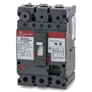 3P Interchangeable Rating Plug Circuit Breaker 100A 600VAC by GE
