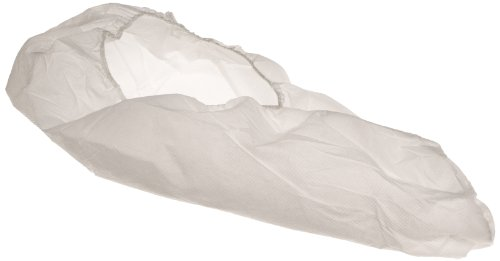 Keystone SC-SS-LG Polypropylene Super Sticky Shoe Cover with Great Non-Skid Bottom, Large, White (Case of 300) by Keystone (Image #1)
