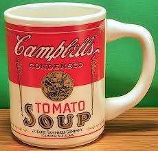 Amazon.com | Campbell\'s Tomato Soup Mug Premium: Coffee Cups: Coffee ...