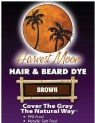 Brown Hair Dye 3 Pack by Moon Harvest