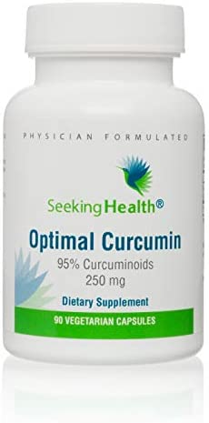 Optimal Curcumin 95 Curcuminoids 90 Vegetarian Capsules Seeking Health