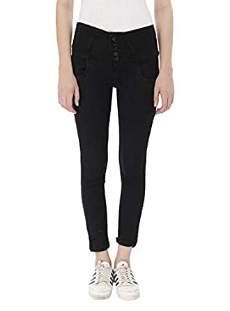 NIFTY Women's Denim Slim Fit Jeans Women's Jeans & Jeggings at amazon
