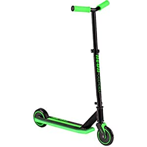Lightweight Strong Performance Green Frame Light-up LED Viper Scooter