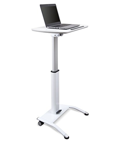 Pneumatic Adjustable-Height Lectern by Stand Up Desk Store