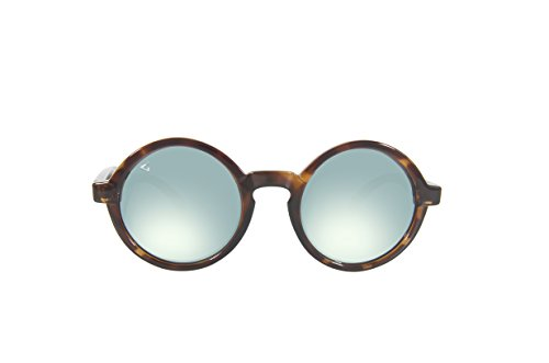 GHNDY Italy Made Unisex Polarized Round Oval Sunglasses (Bianca, Acqua - Glasses Giada