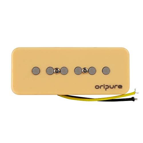 (OriPure Vintage Alnico 5 Soap Bar P90 Pickup Neck Guitar Pickup Sweet Sound -)