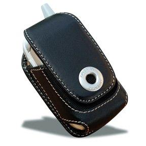 Covertec SX102/01 Black Leather Vertical Case V1