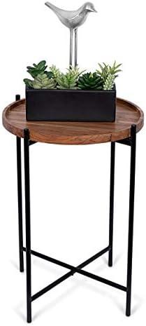 BIRDROCK HOME Folding Side Table
