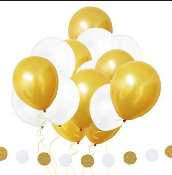 Gold 30TH Birthday Balloons Set