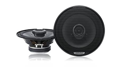 Alpine SPJ17C2 6.5-Inch Coaxial 2-Way Speaker System 200W Peak 40W RMS - Set of 2 (2006 Toyota Sequoia Speakers)