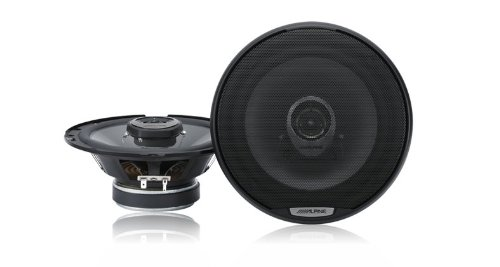 Alpine SPJ17C2 6.5-Inch Coaxial 2-Way Speaker System 200W Peak 40W RMS - Set of 2 (05 Tsx Grill compare prices)