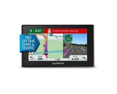 Garmin DriveAssist 50 EU LMT - Navegador GPS con mapas de por Vida y trá fico en Directo (Pantalla de 5', Mapa Europa Completo) Garmin Iberia S.A.U. 010-01541-11