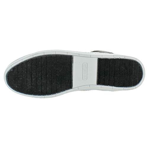 Ben Sherman Mens Knox Canvas Mid Top Fashion Sneakers Black 14 Medium (D) by Ben Sherman (Image #2)