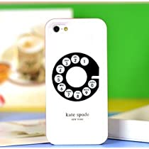 Kate Spade iPhone 5 Resin Hard Case(Old Telephone Style)