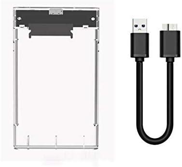 DaoRier USB 3.0 HDD Ssd Sata Transparente Plastico Externo Caja De ...