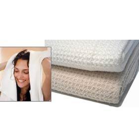 Aquis Microfiber Hair Towel, Waffle (19 x 39-Inches)