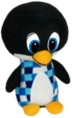 Blue ToySource Blue Partay The Penguin 10.5 Plush Collectible Toy 10.5